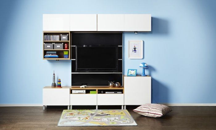 Album 1 photos catalogues ikea banc tv besta billy - Mueble tv hemnes ...