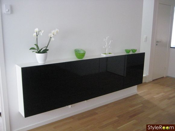 besta ikea buffet table de lit. Black Bedroom Furniture Sets. Home Design Ideas