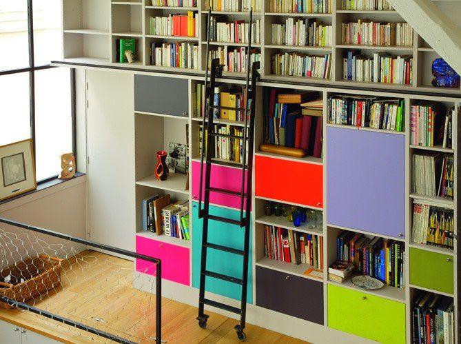 Album - 15 - Bibliothèques et Ensembles avec caissons Design pour l'inspiration (divers marques)
