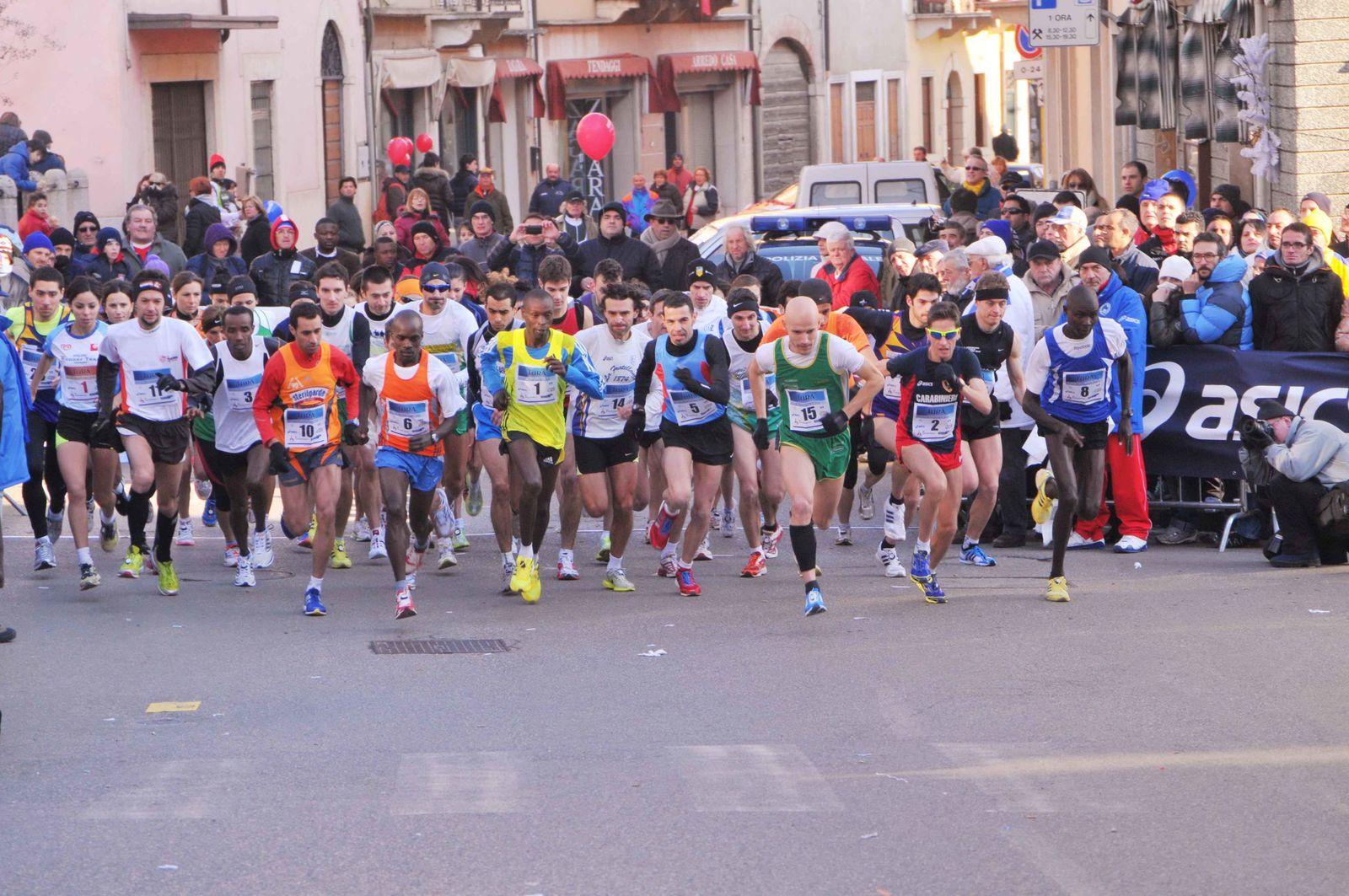 Un'immagine di una delle precedenti edizioni della Maratonina Turà alla Montefortiana