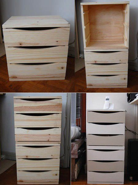 transformer un bloc tiroir en meuble de bureau du go t et des couleurs. Black Bedroom Furniture Sets. Home Design Ideas