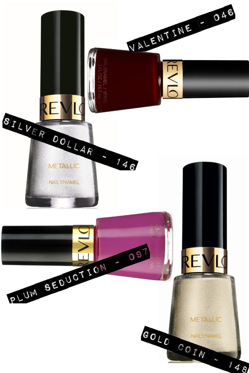 visuels revlon HEAVENLY METAL