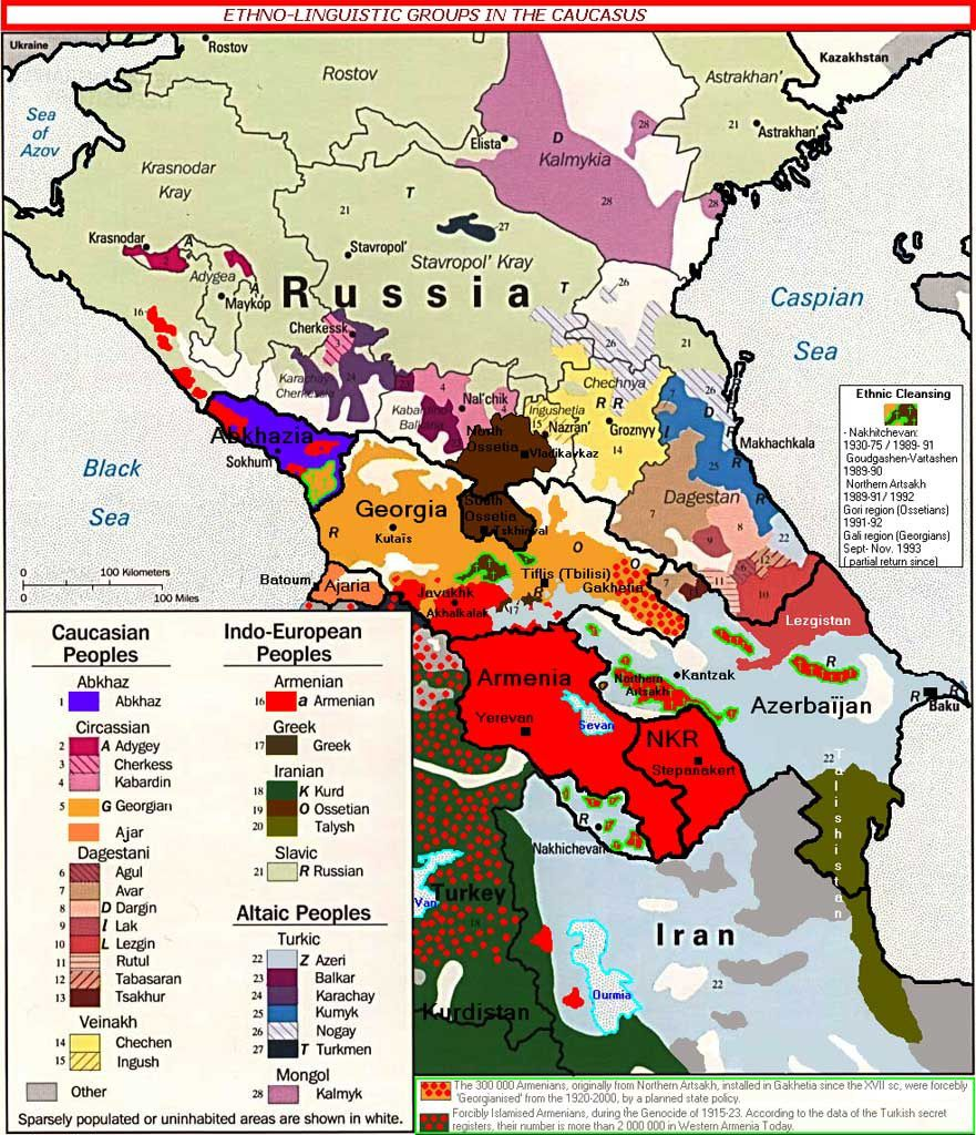 Map Of Georgia Ussr.To Understand The Position Of Russia In The Syrian Conflict The