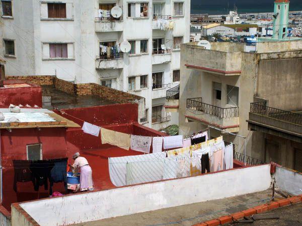 Tanger la blanche souvenirs photos en voyage aux portes for Linge de maison casablanca
