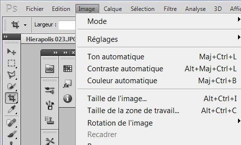 retouche base photoshop