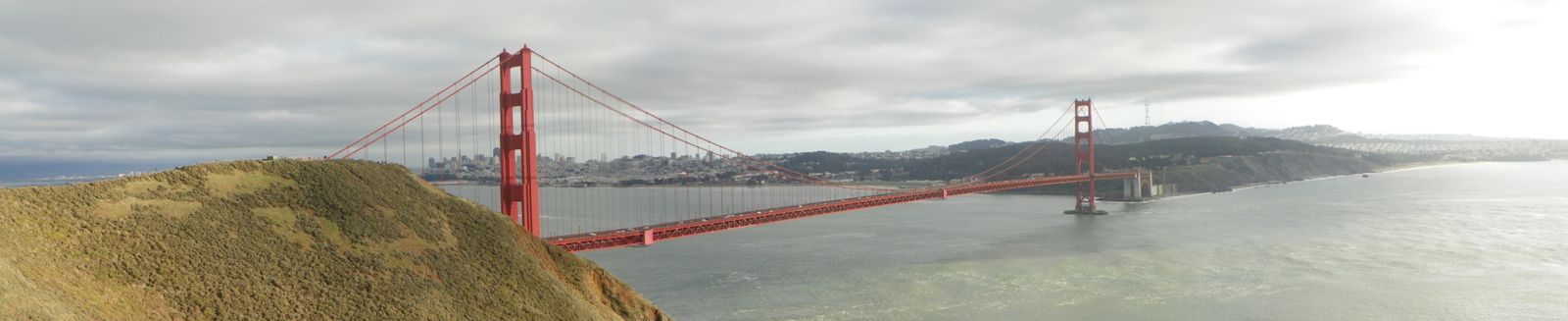 pano Golden gate