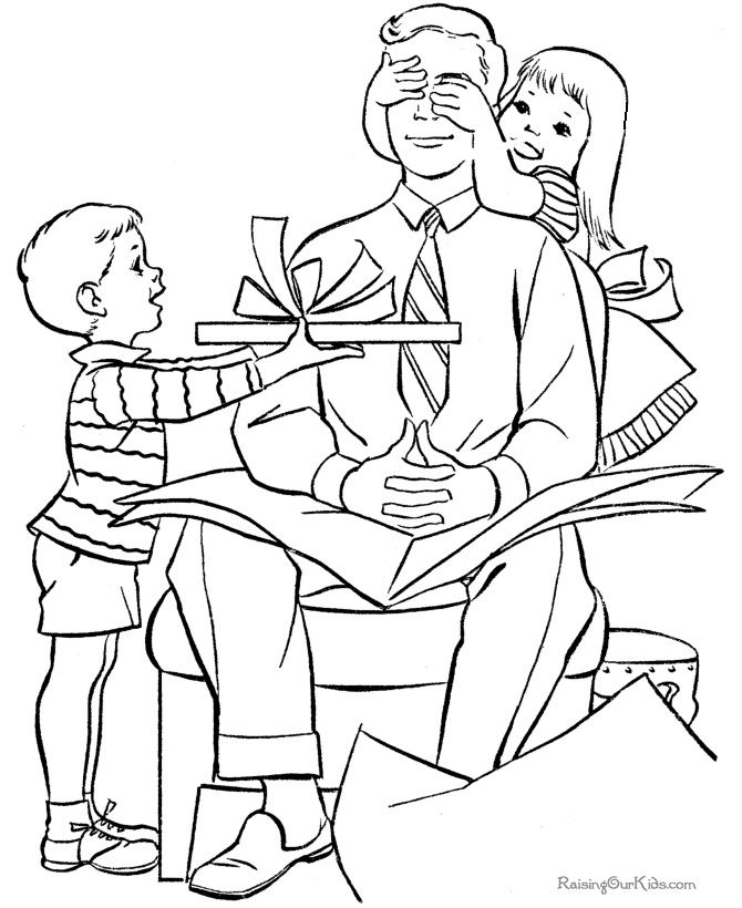 Bonne f te papa le blog de jackie for Coloring pages of helping others