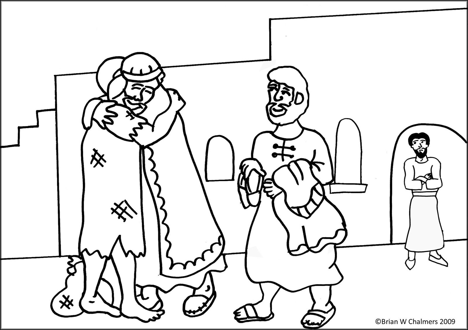 lost coin coloring pages - photo#12