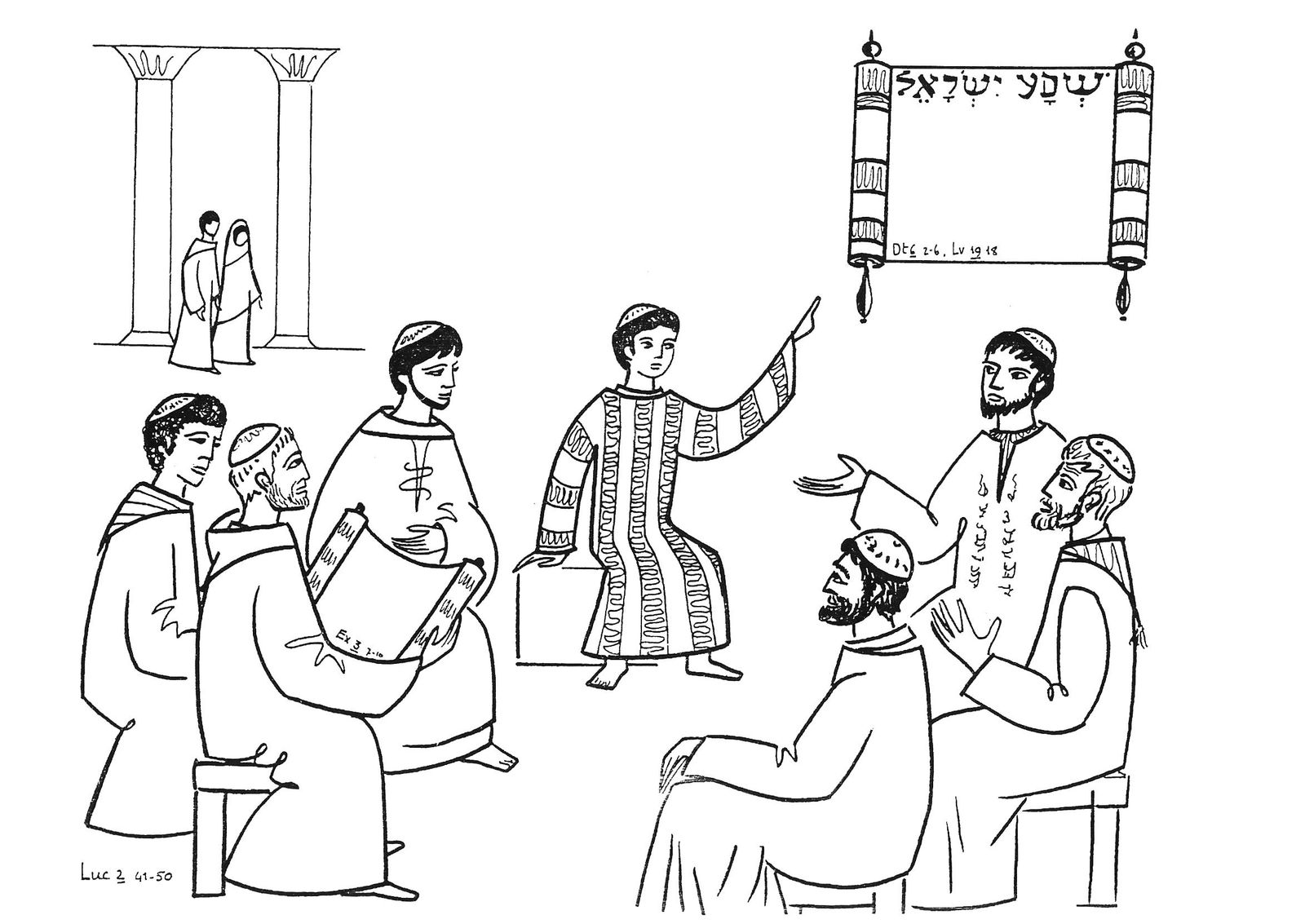 Suggestions Online Images Of Boy Jesus In The Temple Clipart