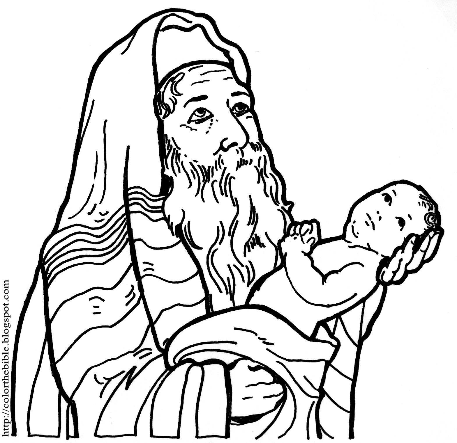 Coloring Pages Heartfelt Father