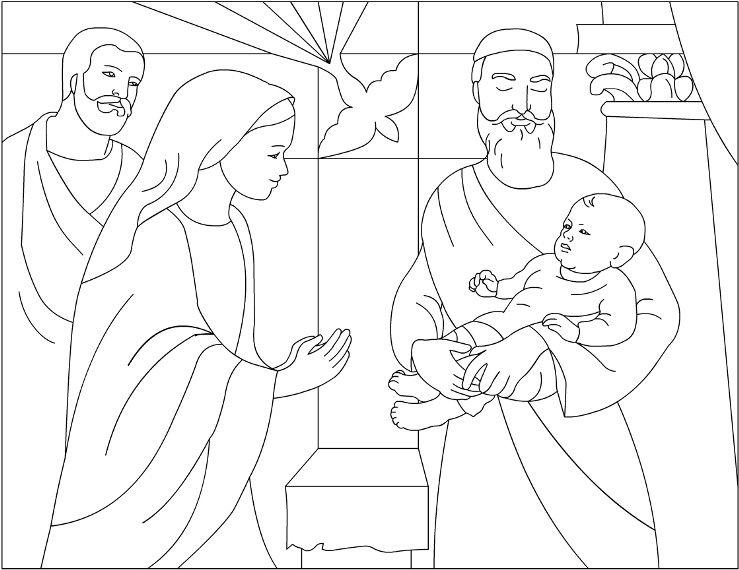 92  Boy Jesus In The Temple Coloring Page Az Pages   Jesus