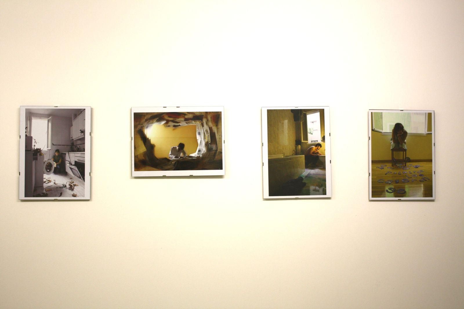 Exposition collective d'art contemporain de jeunes artistes espagnols du 13/07 au 23/07 Galerie ouverte 7j/7j de 10h à 14h et de 16h à 21havec Marutxo, Maitane Azparren Gurpegui, Mary A., Clara Sancho- Arroyo Cañada, Jesús Massó Valdés,