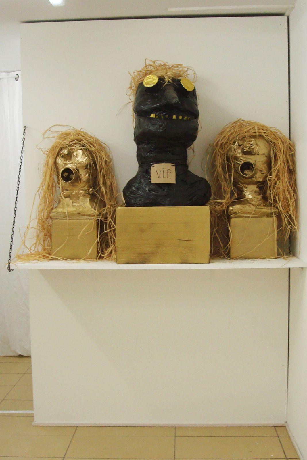 Exposition collective d'art contemporain du 30/09 au 15/10 Galerie ouverte du lundi au samedi de 10h à 13h et de 16h à 19h30avec Jose Pareja, Andoni Guiresse Dupérou, Manu Berque, et Mary Aznar