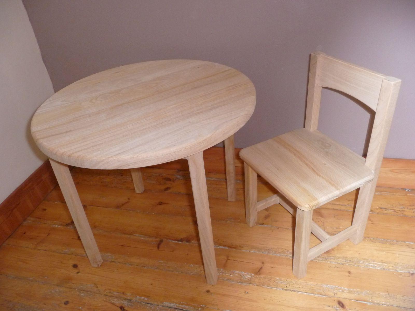 Petite table et chaise maison design for Petite table avec chaise