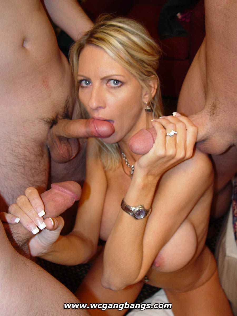 Deep throated gagging whores