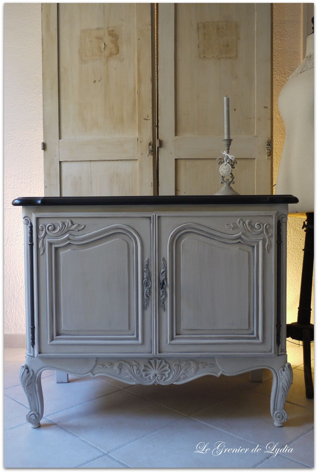 petit buffet r gence patin relooking de meubles meubles patin s d coration patine. Black Bedroom Furniture Sets. Home Design Ideas