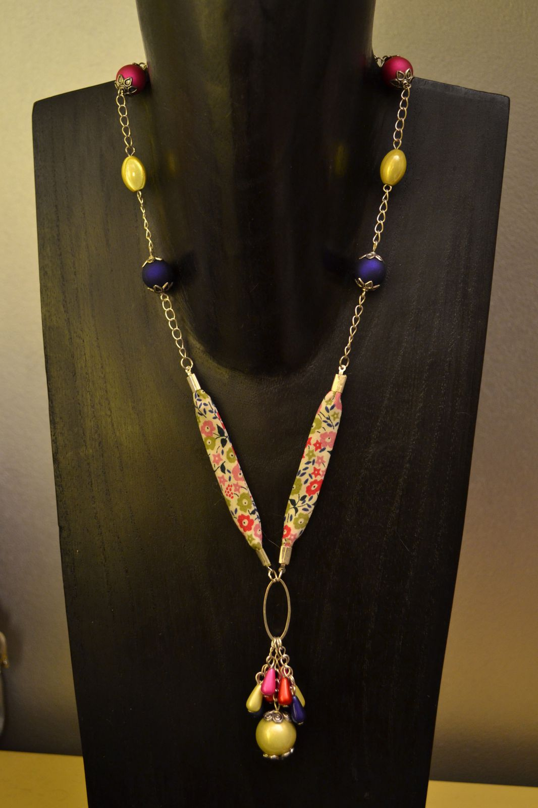 Modèles Colliers Perles Maternelle : Colliers liberty le de kimie creation bijoux