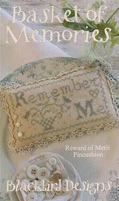 blackbird designs basket of memories 11-1384