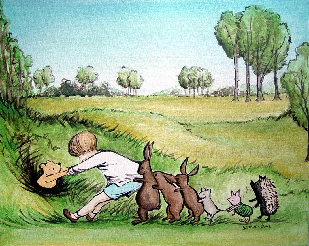 Non sense onirico in compagnia di winnie the pooh for Winnie pooh ka che