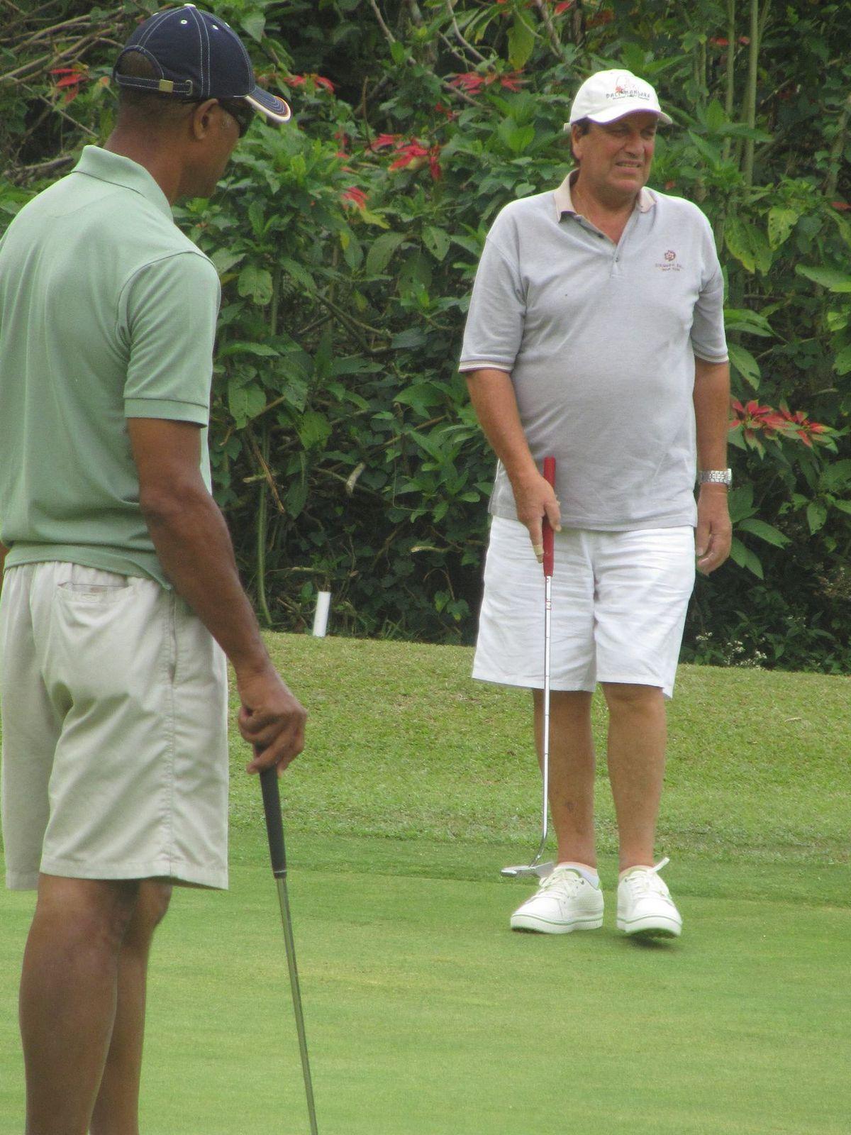Golf et Shopping à Bedugul en Octobre 2012