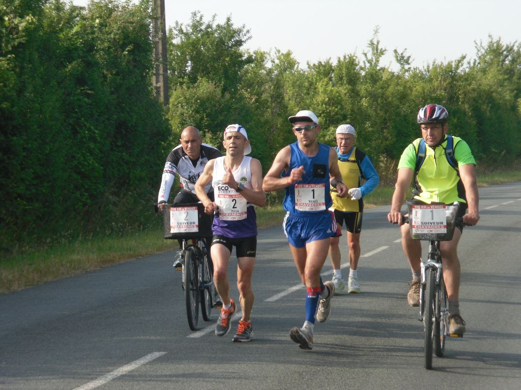 Le vainqueur des 100KM de Vendée 2011
