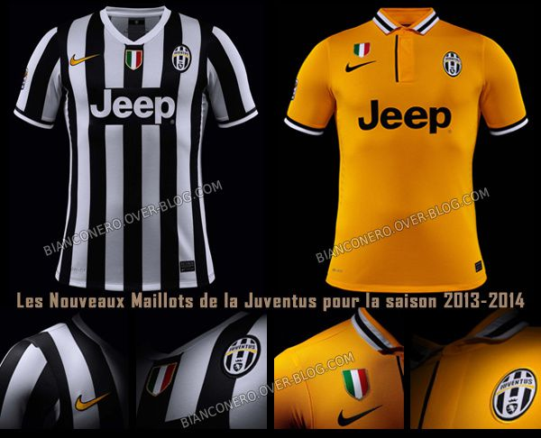 maillots 2013 2014 de la juventus le blog de bianconero. Black Bedroom Furniture Sets. Home Design Ideas