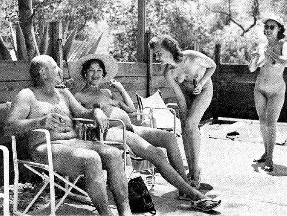 Vintage Family Nudism
