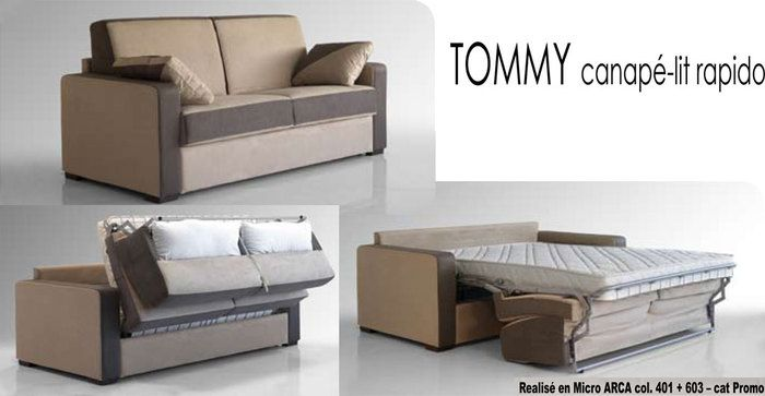 canap lit rapido tommy bi color. Black Bedroom Furniture Sets. Home Design Ideas