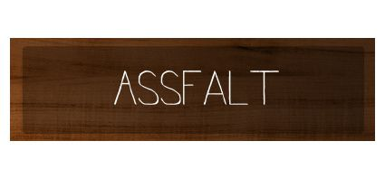 ass falt plaque