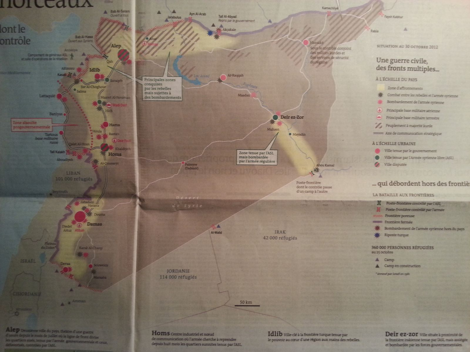 syrie 1 - le monde 31.oct 2012