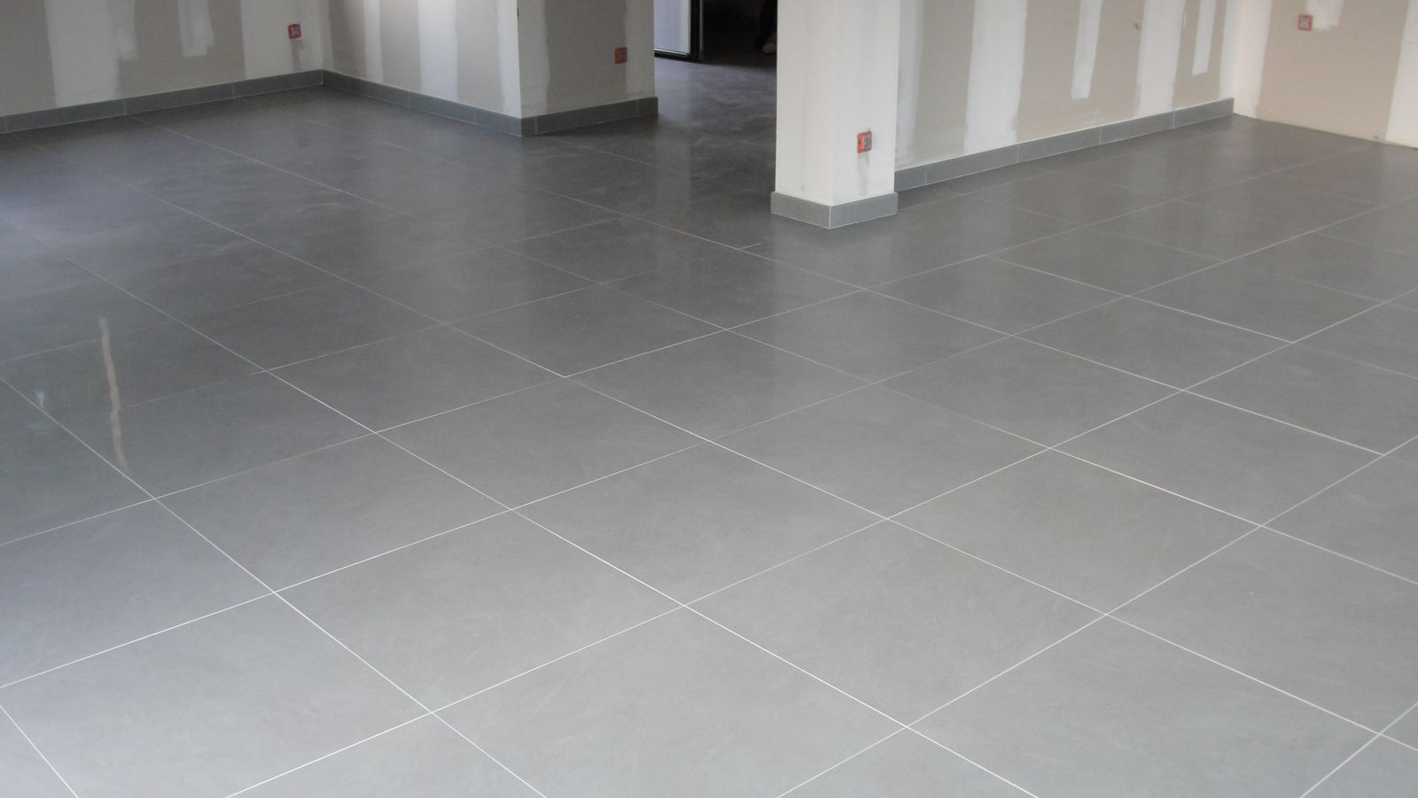Carrelage gris pas cher for Carrelage wc gris