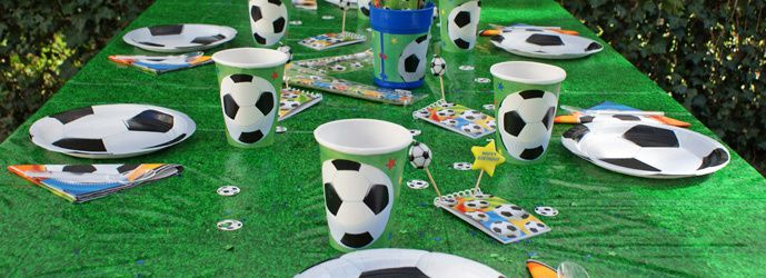 Deco table anniversaire football - Decoration football pour anniversaire ...
