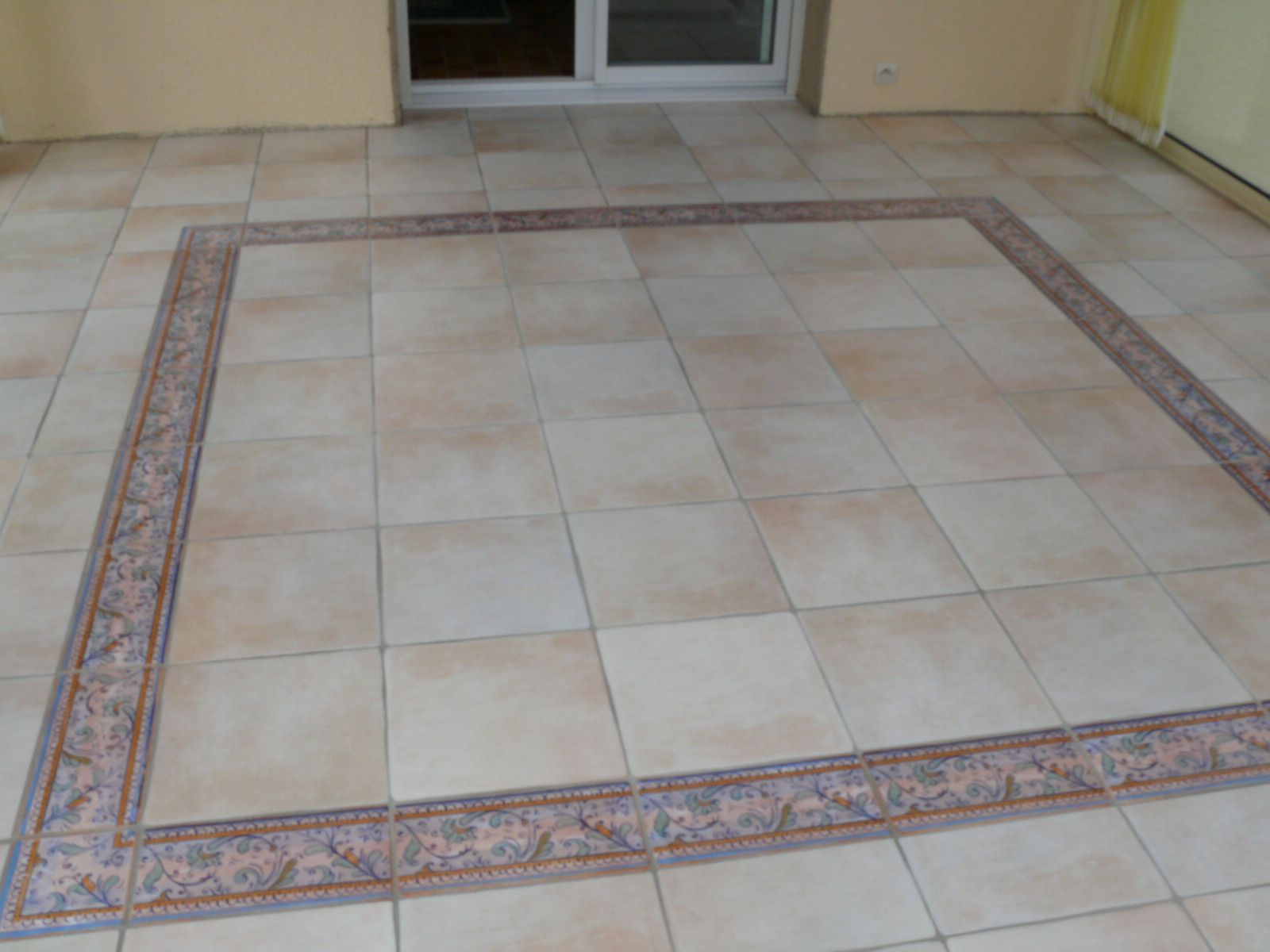 Album verandaguyextention le blog de carrelage faience for Carrelage veranda