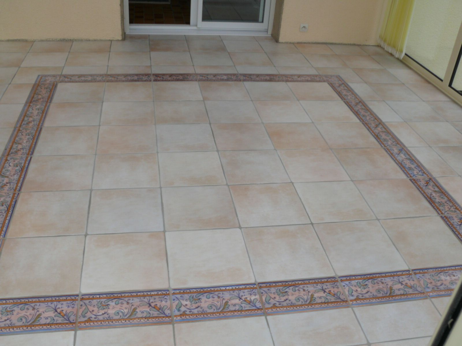 Album verandaguyextention le blog de carrelage faience for Carrelage escalier exterieur
