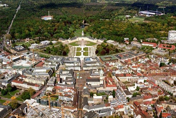 Karlsruhe Nom De La Ville