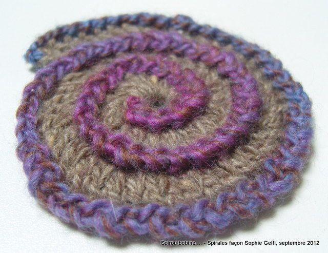 Crochet Hair Spirals : Crochet Spiral Related Keywords & Suggestions - Crochet Spiral Long ...