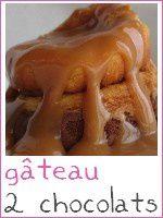 Gâetau aux 2 chocolats et son caramel maison - index