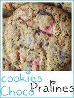 cookies chocolat - pralines roses - index
