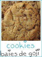 cookies chocolat - baies de goji - index