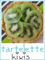 tartelettes - tarte au kiwi - index