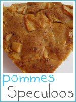 gâteau pommes speculoos - index