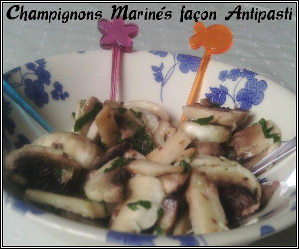 champignons mariné 1