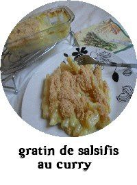 index gratin de salsifis au curry