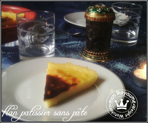 flan patissier sans p 226 te mon royaume weight watchers