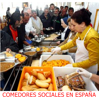comedores sociales en españa