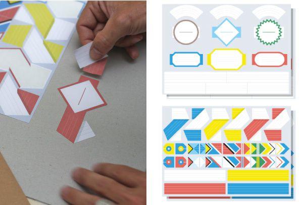 A PART CA - Etiquettes Papier Tigre 4