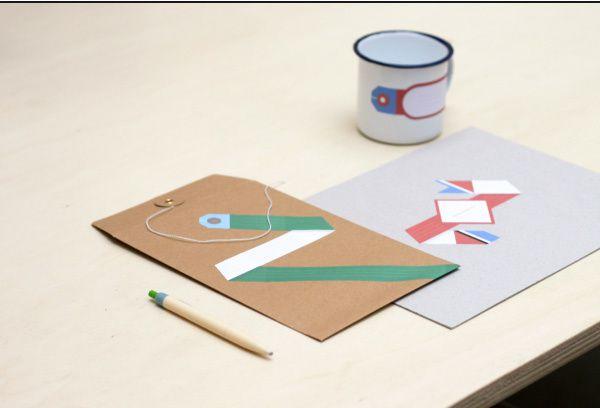 A PART CA - Etiquettes Papier Tigre 5