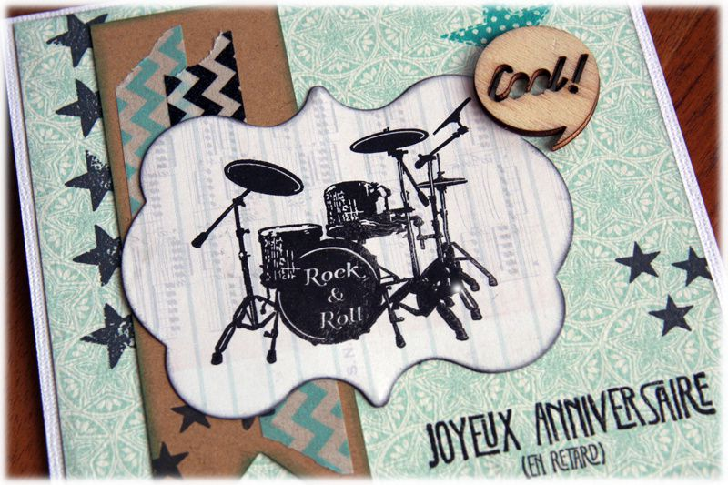 Carte D Invitation Anniversaire Rock And Roll Lisaoycwilson Blog