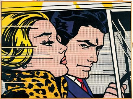 Roy-Lichtenstein--In-the-car--1963-jpg