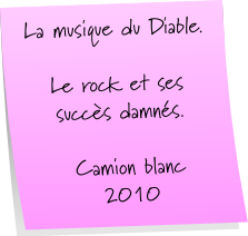 Post it - diable